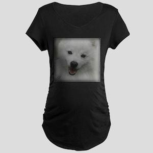 Eskie Face Maternity T-Shirt