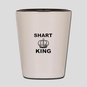 Shart King Shot Glass