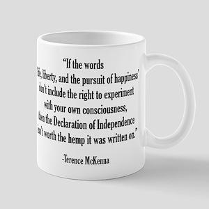 Terence McKenna Quote Mug