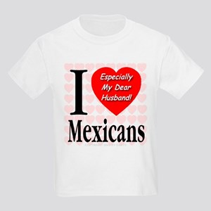 I Love Mexicans: Especially M Kids T-Shirt