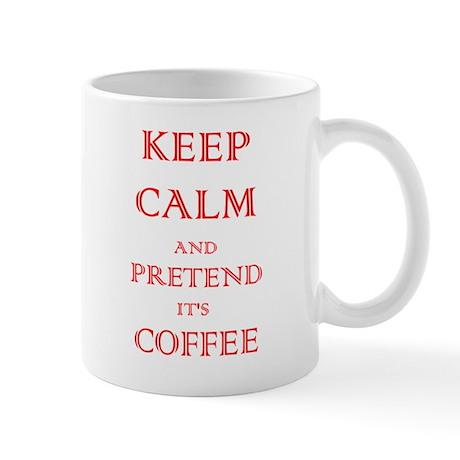 Coffee - Keep Calm (Red) Mug