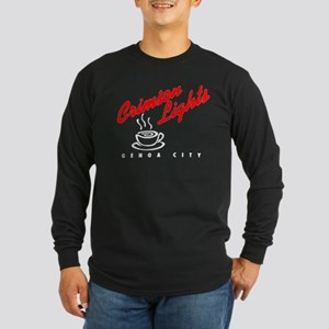 Crimson Lights Logo 02 Long Sleeve T-Shirt