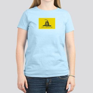 Women's Yellow Don't Tread on Me T-Shirt