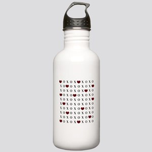 XOXO Hearts Water Bottle