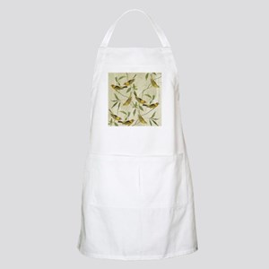Vintage Yellow Birds Apron