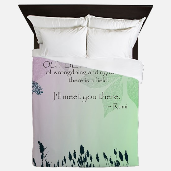 Zen Out Beyond Ideas Queen Duvet