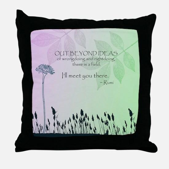 Zen Out Beyond Ideas Throw Pillow