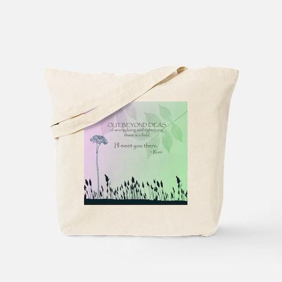 Zen Out Beyond Ideas Tote Bag