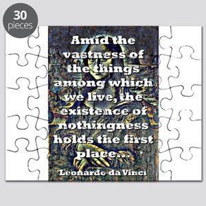 Amid The Vastness Of The Things - da Vinci Puzzle