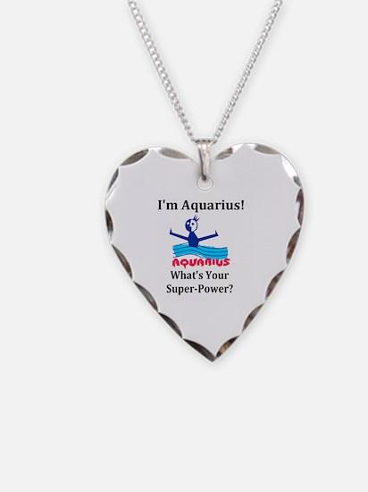 Cool Aquarius Necklace