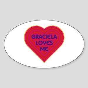 Graciela Loves Me Sticker