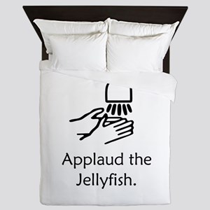 Applaud the Jellyfish Queen Duvet