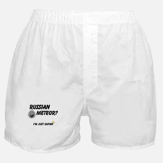 Meteor Crash? Boxer Shorts