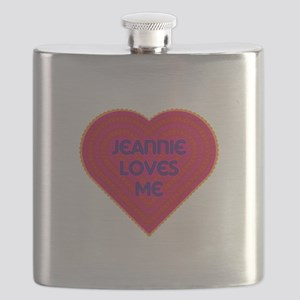 Jeannie Loves Me Flask