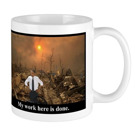 My Work Here Is Done! Mugs