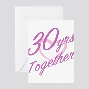 Cute 30th Anniversary Greeting Cards