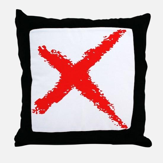 X-Cut Throw Pillow