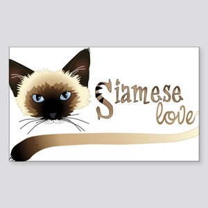 Siamese LOVE Sticker