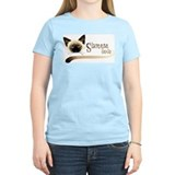 Siamese cat Women's Light T-Shirt