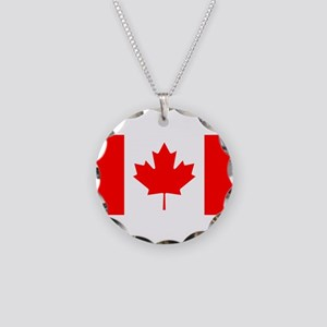 Flag of Canada Necklace