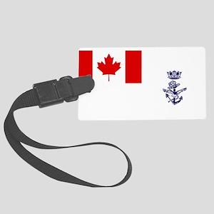 Naval Jack of Canada Luggage Tag