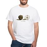 Going Halfsies Apple White T-Shirt