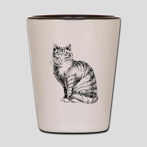 Cat Shot Glass