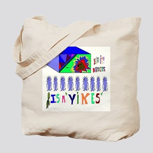 Obama Care Yikes Tote Bag
