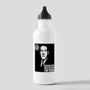 H.P. Lovecraft Glare Water Bottle