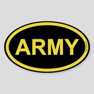 US Army Sticker (Oval)