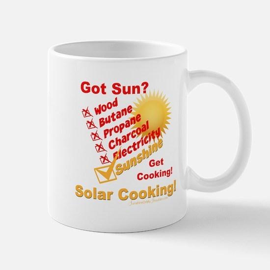 Got Sun? Solar Cooking Mugs
