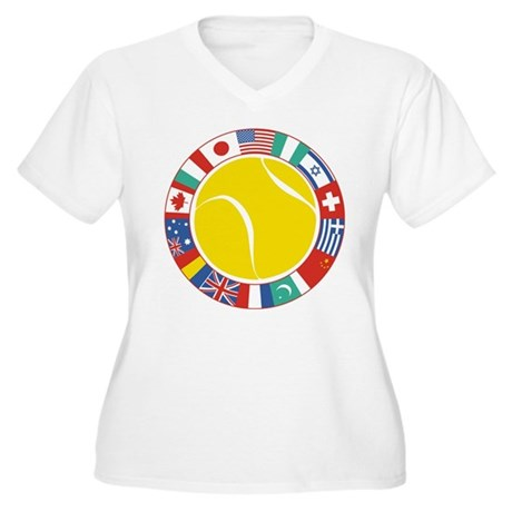 tennis world Plus Size T-Shirt