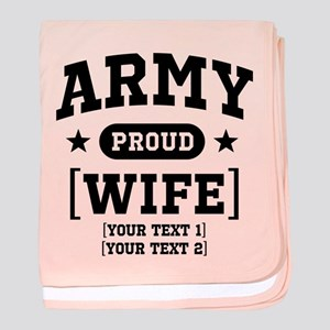 Army Wife/Aunt/Uncle baby blanket