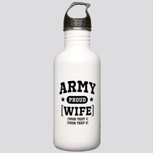 Army Wife/Aunt/Uncle Stainless Water Bottle 1.0L