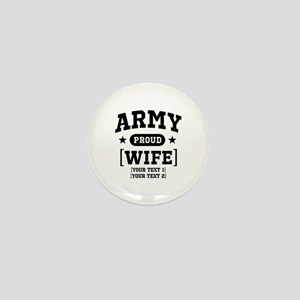 Army Wife/Aunt/Uncle Mini Button