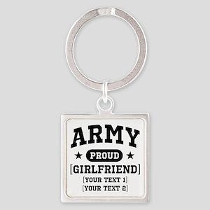 Army grandma/grandpa/girlfriend/in-laws Square Key