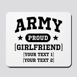 Army grandma/grandpa/girlfriend/in-laws Mousepad