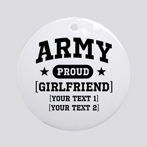 Army grandma/grandpa/girlfriend/in-laws Ornament (