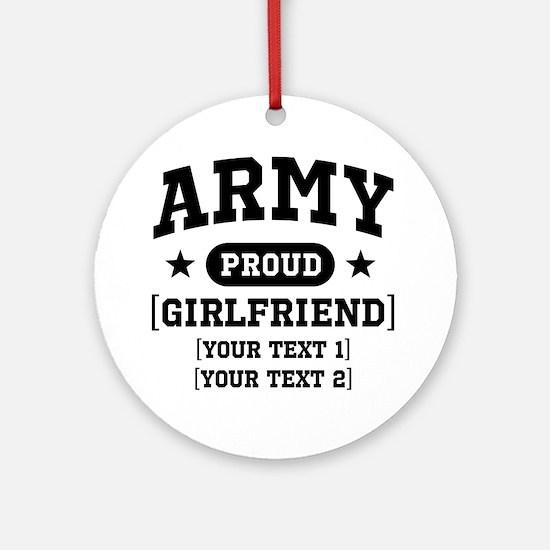 Army grandma/grandpa/girlfriend/in-laws Ornament (