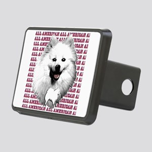 all american eskimo dog Rectangular Hitch Cover
