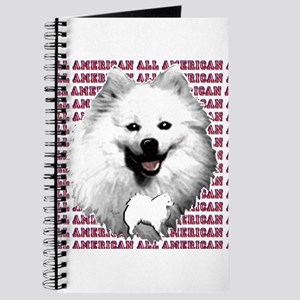 all american eskimo dog Journal