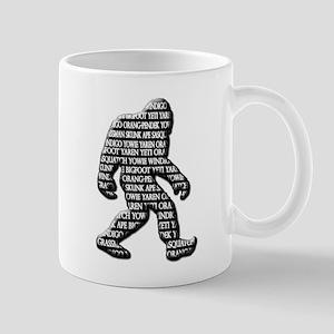 Bigfoot Sasquatch Yaren Yeti Yowie Mug