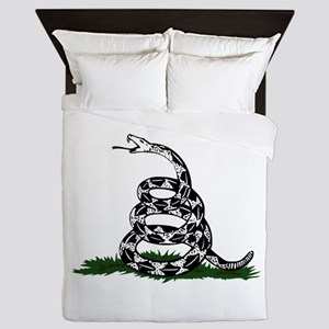Don't Tread on Me Queen Duvet