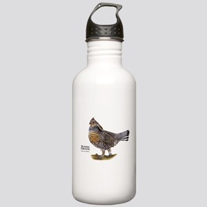 Ruffed Grouse Stainless Water Bottle 1.0L