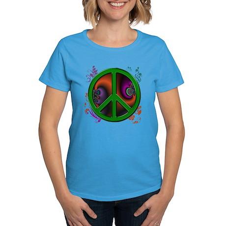 Peace symbol (green) T-Shirt