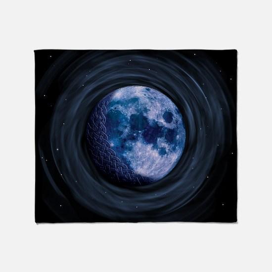 Celtic Blue Moon Throw Blanket