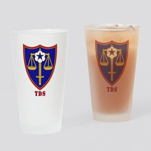TDS Patch Drinking Glass