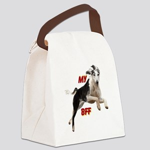 Saluki Canvas Lunch Bag