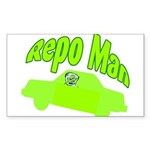 Repo Man Rectangle Sticker