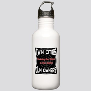 Twin Cities Gun Owners emblem Water Bottle
